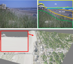 Geo-localization using Volumetric Representations of Overhead Imagery